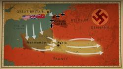Druhá světová válka - bitva o Evropu obrazok