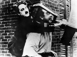 Chaplin strážcom verejného poriadku obrazok