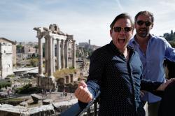 Manu a Matěj na cestě z Říma na ostrov Capri obrazok