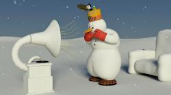 Snehuliak Albi