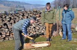 Dřevák dřevěný