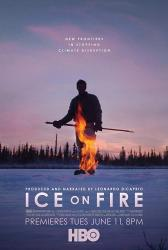 Led v ohni