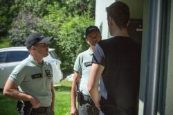 Policajti v akcii obrazok