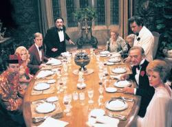 Vražda na večeři obrazok