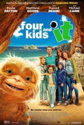 Čtyři děti a skřítek