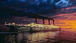 Titanic obrazok