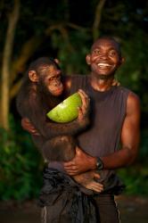 Příběh šimpanzího sirotka