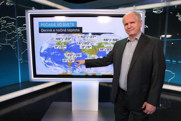 b0ff8219f Najlepšie počasie - JOJ, pondelok 25. marec | Telkáč.sk