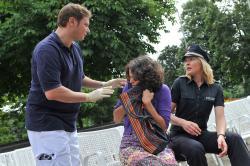 Policie Hamburk obrazok
