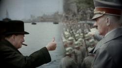 Hitler versus Churchill obrazok