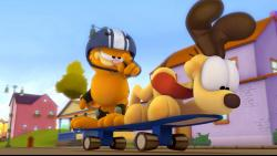 Garfield IV obrazok