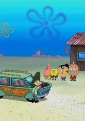 SpongeBob v nohaviciach