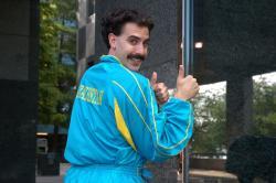 Borat: Nakúkanie do ameryckej kultúry na objednávku slavnoj kazašskoj národa obrazok