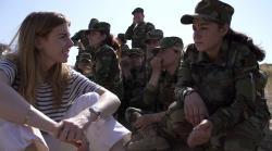 Ženy proti ISIS obrazok