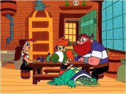 Pirátova rodinka obrazok